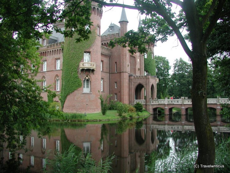 Moyland Castle in Bedburg-Hau, Germany