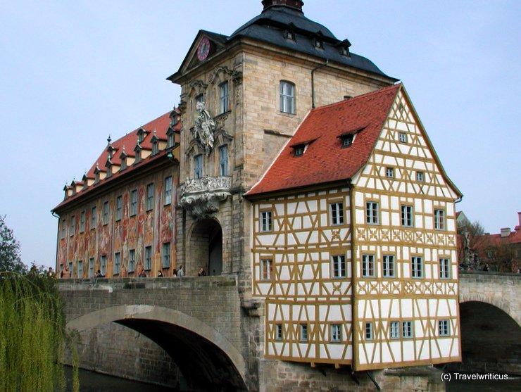 Old city hall of Bamberg, Germany