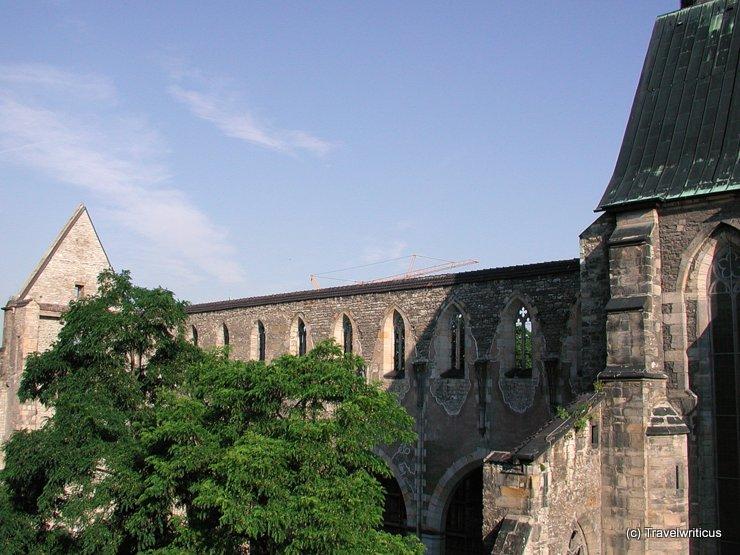 Barfüsser Church in Erfurt, Germany