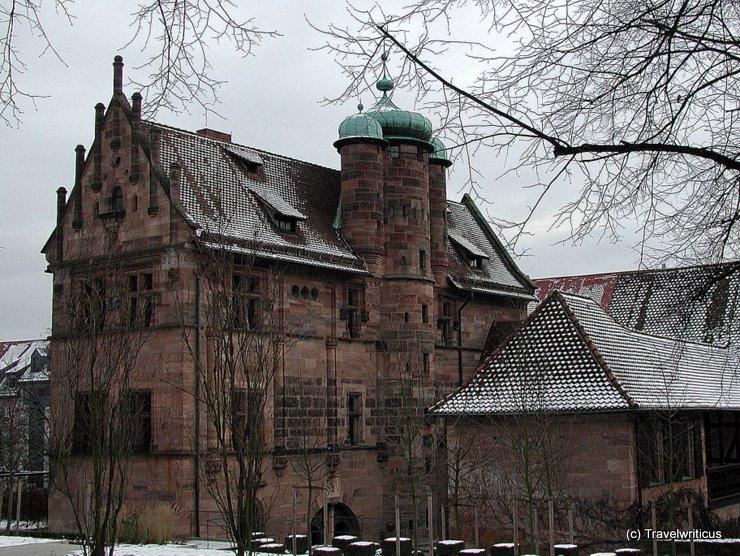 Tucher Mansion in Nuremberg, Germany