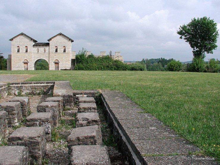 Roman fort Biriciana in Weißenburg, Germany