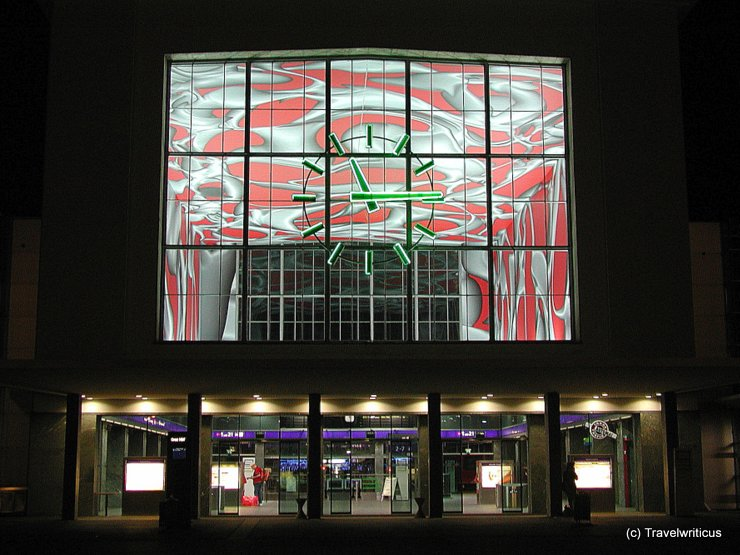 Frontview of Graz Central Station
