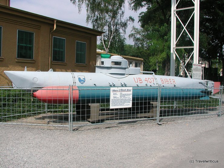 Midget submarine in Speyer, Germany