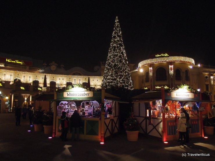 Wintermarkt at Riesenradplatz in Vienna, Austria