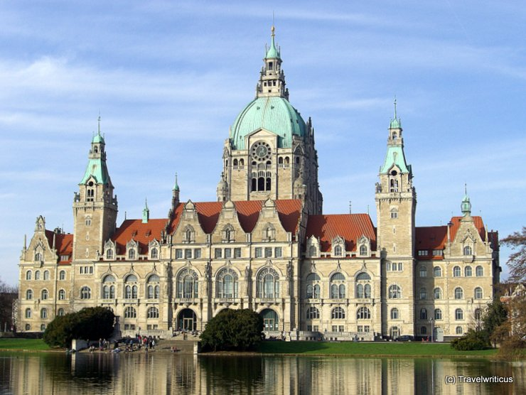 Neues Rathaus in Hanover, Germany
