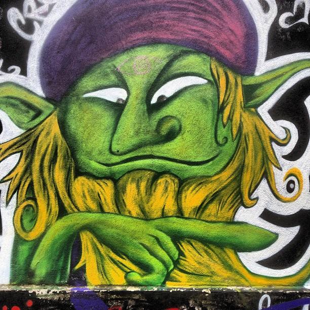 Street art in Graz, Austria