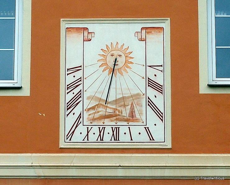 Sundial in Aigen-Schlägl, Austria
