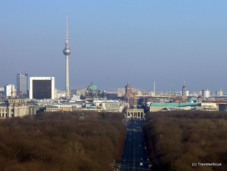 Skyline of Berlin, Germany
