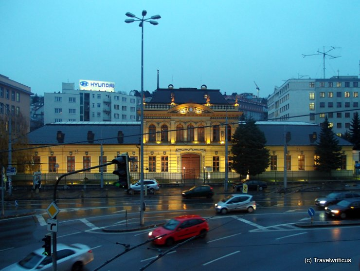 Near Bratislava Railway Station