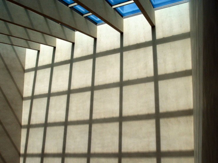 Play of light and shadow at the Vorarlberg Museum