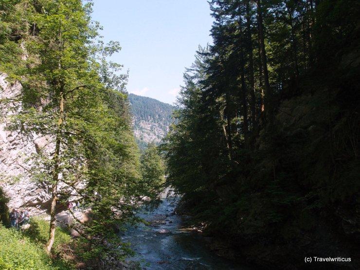 Breitachklamm Gorge near Tiefenbach, Germany