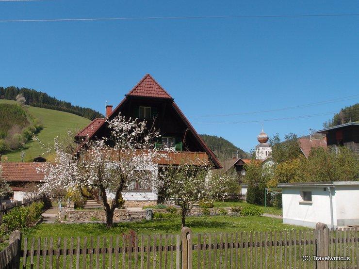 View of Breitenau am Hochlantsch, Austria