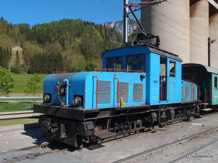 Locomotive of the Breitenau Railway, Austria
