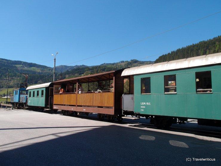 Vintage railway in Breitenau, Austria