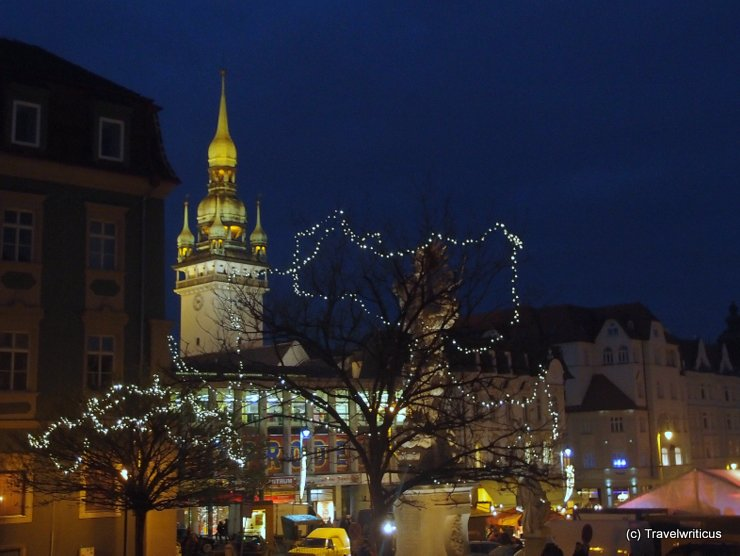 Christmas market in Brno (Czech Republic)