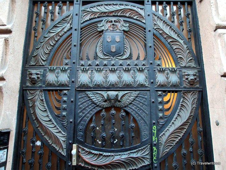 Amazing door near Keleti Pu, Budapest