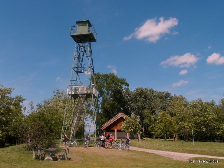 Hungarian guard tower in Burgenland, Austria