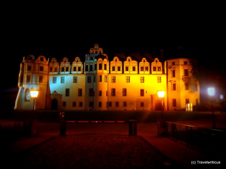 Schloss Celle at night, Germany