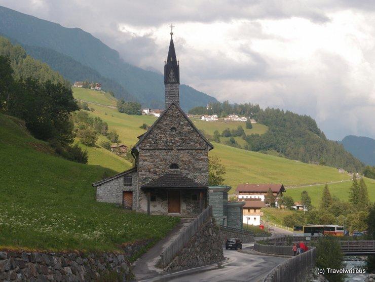 Chapel St Sebastian in Hinterbichl, Austria