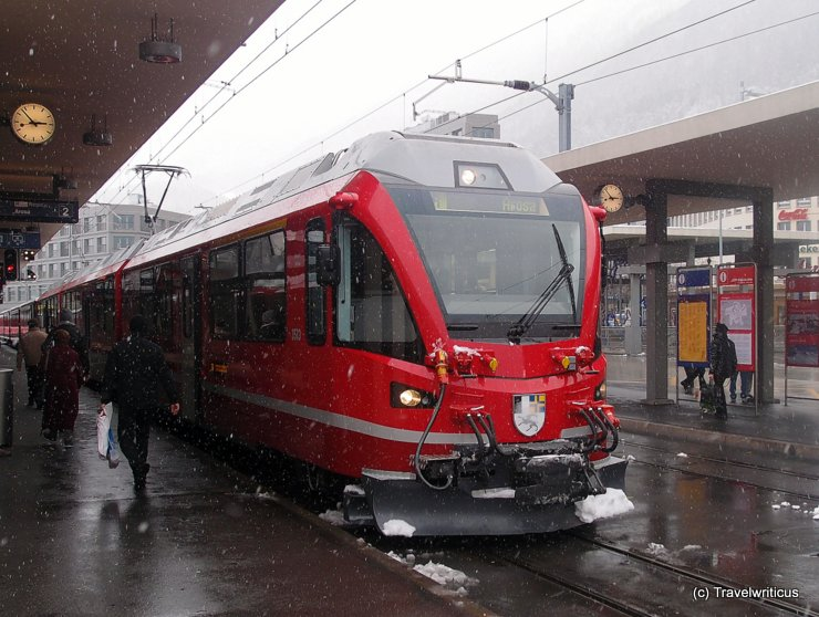 RhB ABe 8/12 'Allegra' in Chur, Switzerland