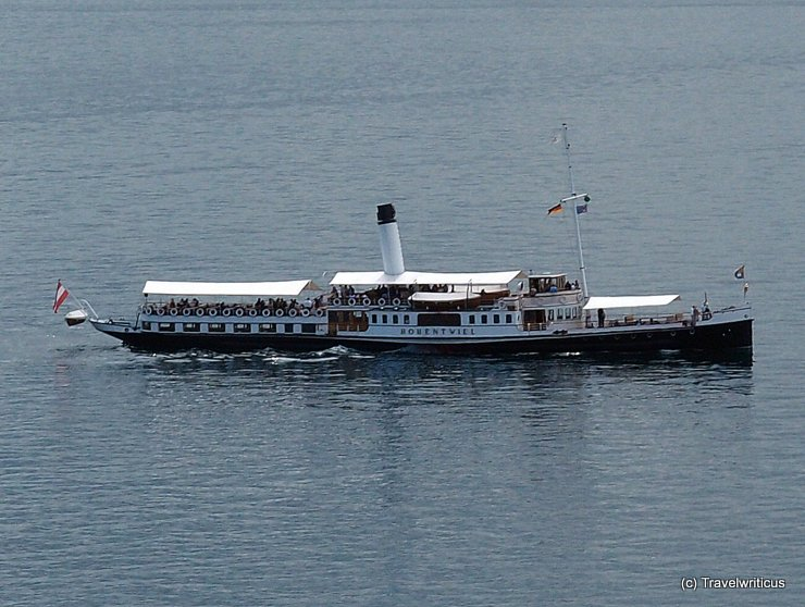 Ship 'Hohentwiel' at Lake Constance