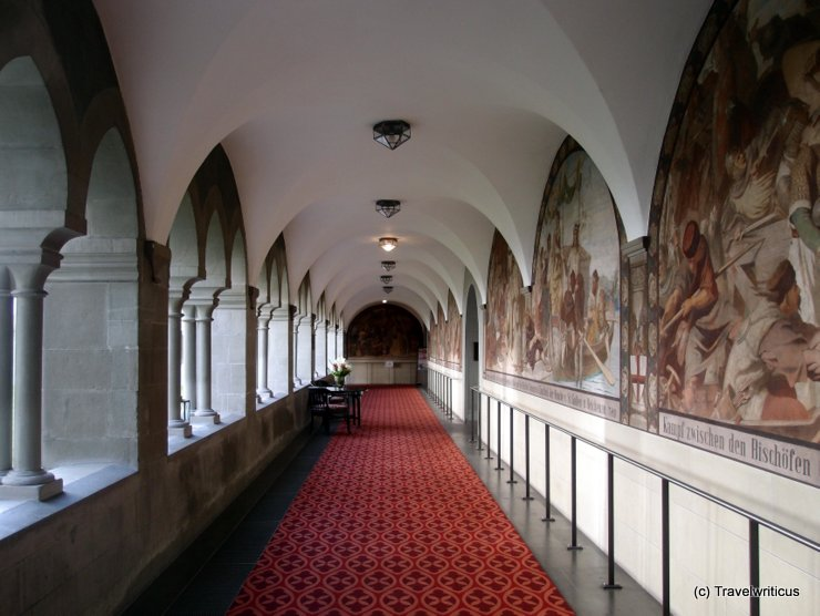 Cloister at Dominicans Island in Constance, Germany