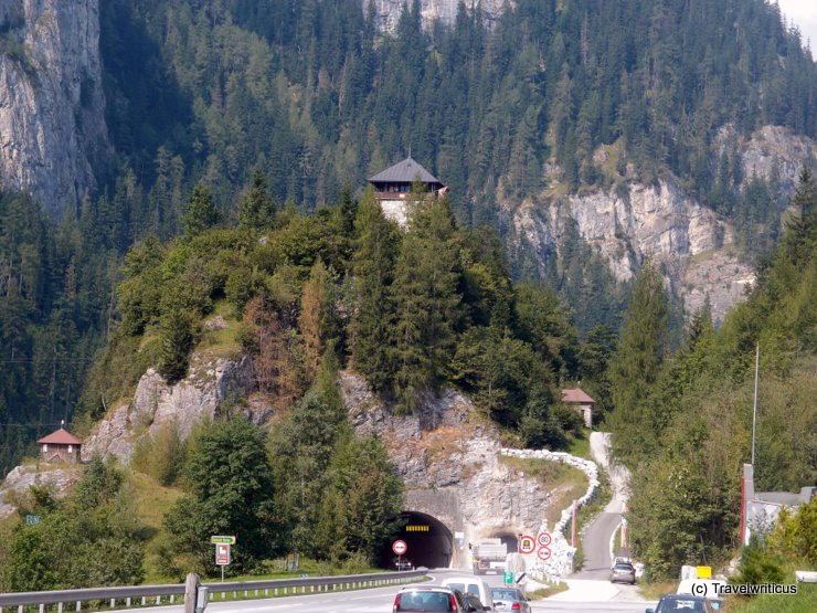 Burg Klammstein in Dorfgastein, Austria