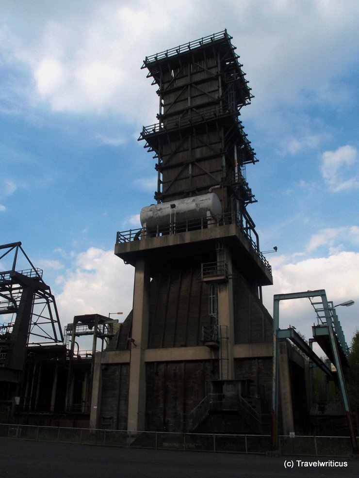 Cooling tower of cokery Hansa in Dortmund, Germany