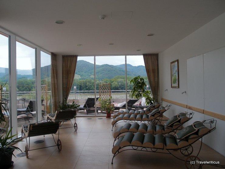Relaxing room at Hotel Pfeffel in Dürnstein, Austria