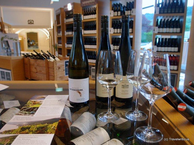 Wine label Katzensprung, Austria