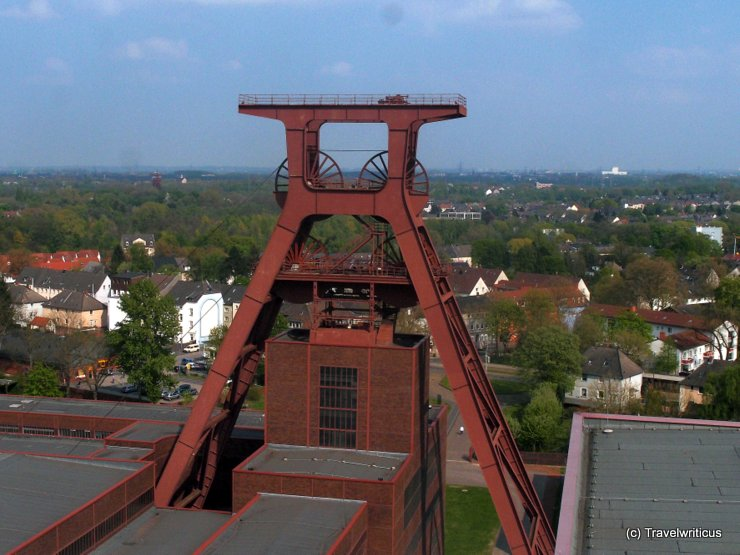 Winding tower at Zeche Zollverein, Germany
