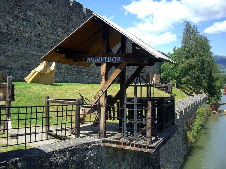 Bäckertauche in Friesach, Austria