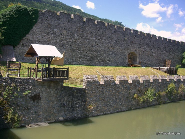 The town walls of Friesach, Austria