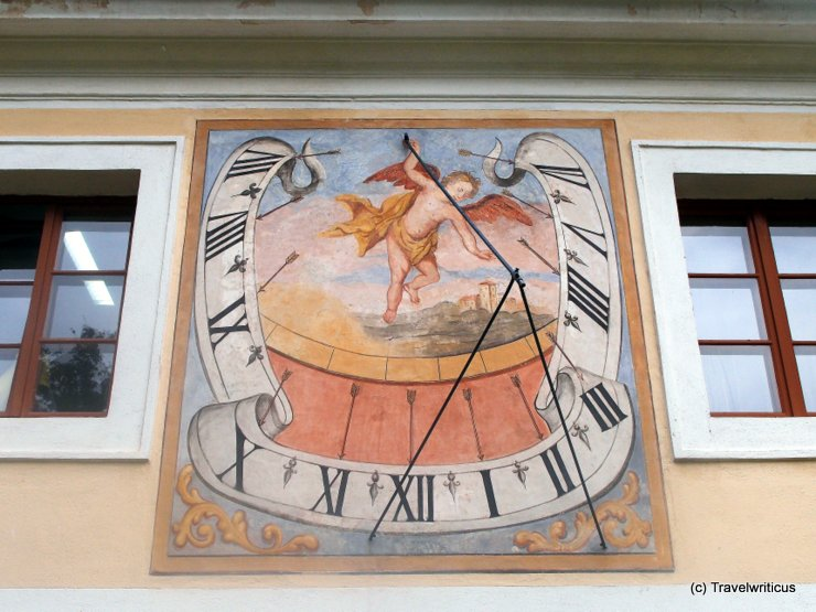 Sundial at Geras Abbey, Austria