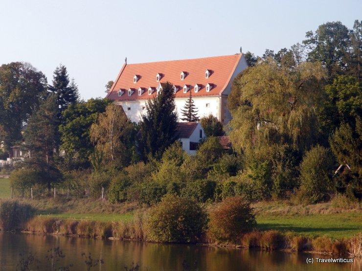 Former granary in Geras, Austria