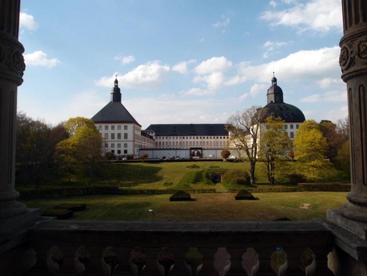 Friedenstein Castle in Gotha, Germany
