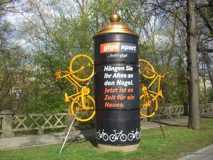 Fun advertisement in Graz, Austria