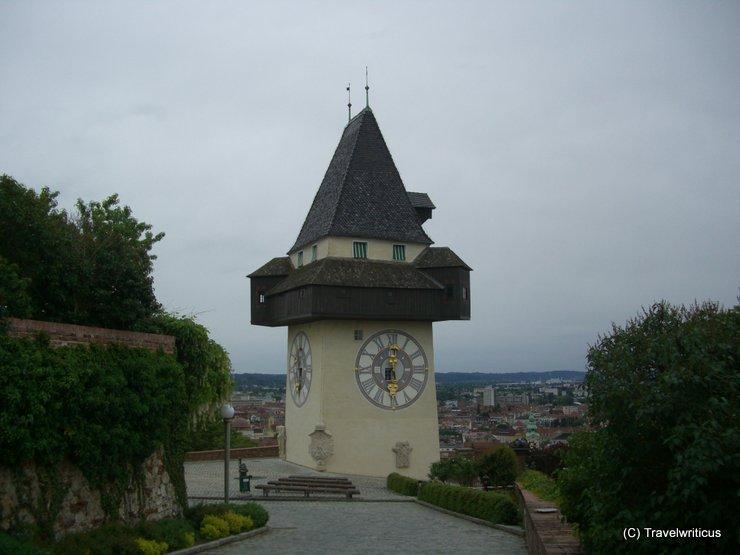 Clock tower of Graz, Austria