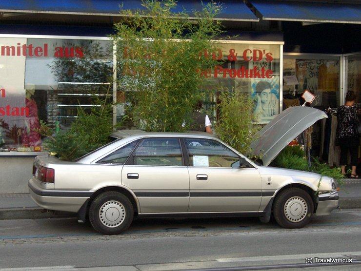 Greened car by Bijari in Graz, Austria
