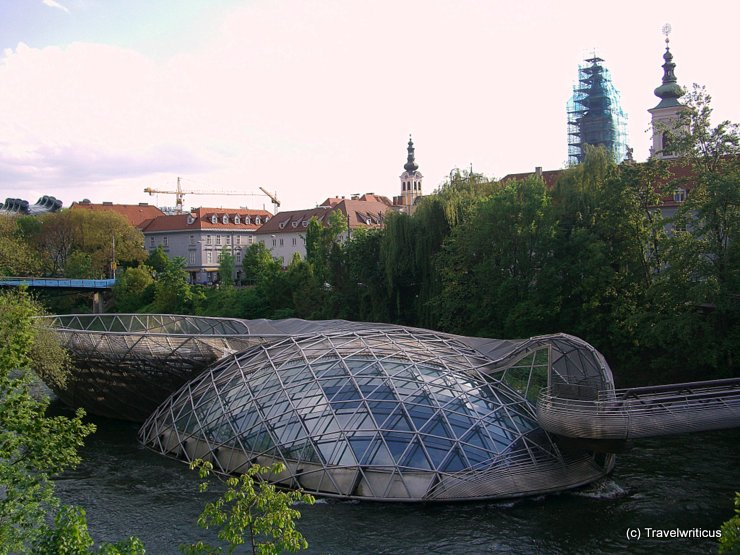 Murinsel in Graz, Austria