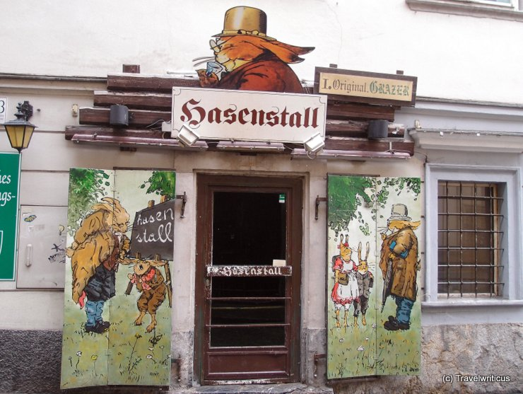 Party venue Hasenstall in Graz, Austria