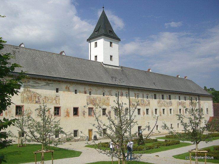 Frescoes of Schloss Parz in Grieskirchen
