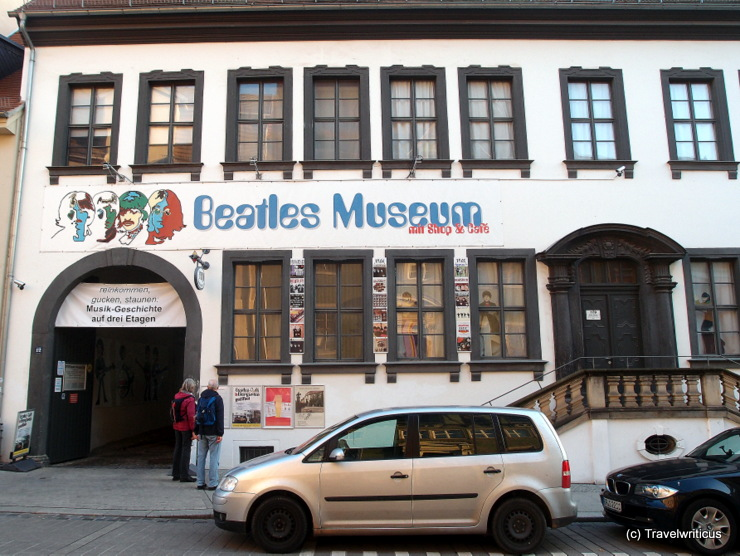 Beatles Museum in Halle (Saale), Germany