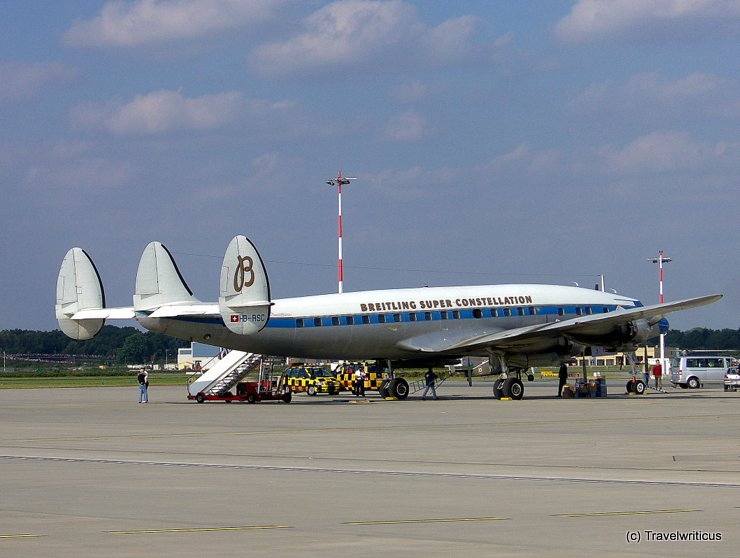 Lockheed Super Constellation in Hamburg
