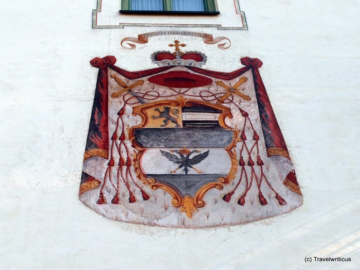Emblem of Hieronymus of Colloredo in Haus, Austria