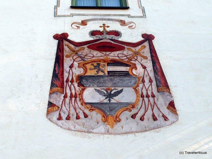 Emblem of Hieronymus of Colloredo in Haus, Austria