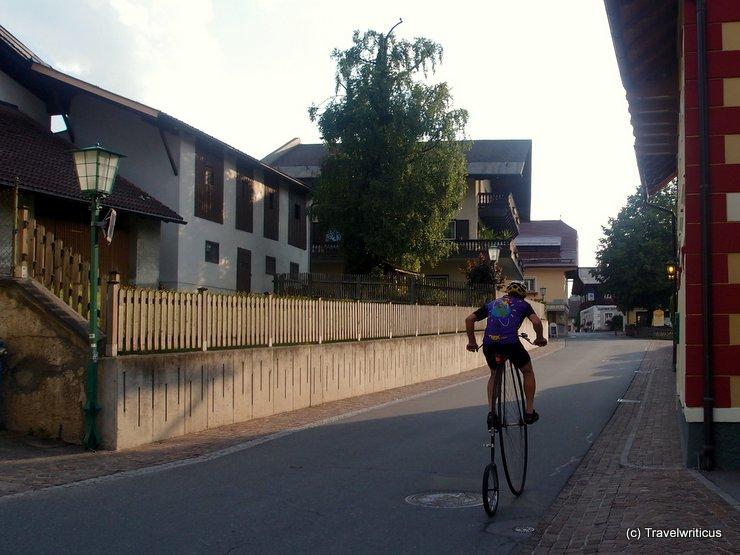 High wheel in Haus, Austria