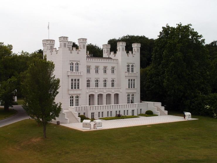 Hohenzollern Castle in Heiligendamm, Germany