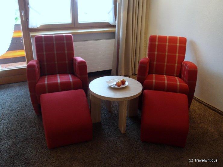 Furniture at Hotel Gemma in Hirschegg, Austria