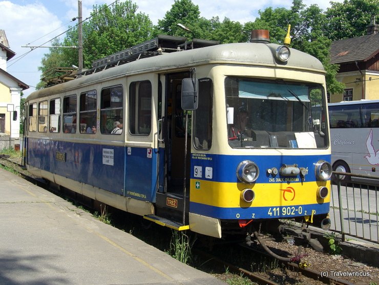 Interurban from Trenčianska Teplá to Trenčianske Teplice